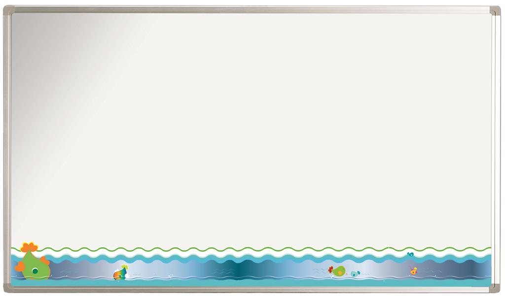Whiteboard Softline bedrukt